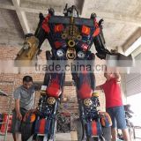 Large Modern Famous Arts Iron Sculpture for Outdoor decoration 7 meters high Optimus prime