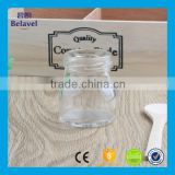 Cheap round glass storage jam jar clear glass 50ml honey jar                                                                                                         Supplier's Choice