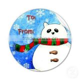 christmas cartoon sticker