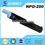 china premium compatible copier NPG200 black toner cartridges for use on IR2535 /2545 printer