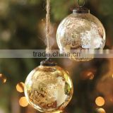 mercury or frosted glass Xmas balls deco wholesale