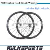 race bike carbon wheelset 38mm Tubular Road bike Wheels 700C Full Carbon fiber Bicycle Wheelset