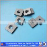 Blank of tungsten carbide shim plate for cutting hard materials like stainless steel, cast iron and wood etc.