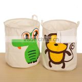 Foldable Cartoon Cloth dirty Clothes Laundry Basket Toy Bag toy basket Hamper Storage