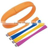 Promotional custom 8GB silicone wristband cheap usb flash drive bracelets memory USB stick