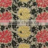 Floral Design Shaggy Polyester Carpets