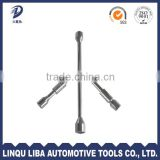 High Quality China Factory Manufacturer Carbon Steel Folding Cross Rim Wrench For Cars
