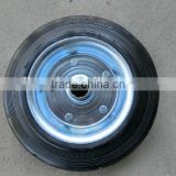 200/50-100 industrial solid rubber wheel with roller bearing