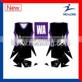Sublimation Priting Pattern Netball Dress