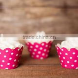 Chevron Polka Dot Stripes Cupcake Wrappers Cake Liners Wedding Supplies Wholesale