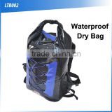 (160407) Custom logo camping back pack outdoor fashion water dry bag