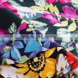 32*32 New Style Cotton Satin Printed Fabric For Women Garment