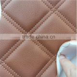 High quality car seat microfiber pvc leather with sponge backing stocklot rexine car seat leather