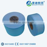 Medical Heat Sealing Sterilization Flat Reel with 70gsm Grade Paper
