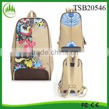 2015 hot sell wholesale tote bag, burlap bag jute bag travel shoulder beach bag jute backpack