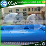 TPU walking water ball pool inflatable soluble golf ball water soluble golf ball for sale                                                                                                         Supplier's Choice