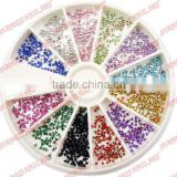 R-108 Nail Art ,2014 Hot Sell nail art;crystal stones,Professional Nail Beauty,Nail Rhinestones