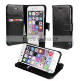 for iphone 6 wallet case magnetic, for iphone 6 leather wallet hole, book stand wallet case for iphone 6