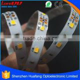 High brightness spray silicone tech aluminium profile led strip warm white 12v led strip