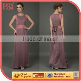 oem and odm clothing evening dress with belt rock star costume fancy dress brown champagne colored wedding dresses
