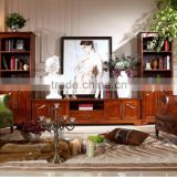 2015 newly designed decoration cabinet/ american style home living room furniture/hot sales wood furniture AS17