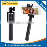 PerfectDay Ultra Compact Foldable QuickSnap Pro 3-In-1 Self-portrait Monopod Extendable Wireless Bluetooth Selfie Stick