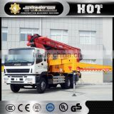Brand new XCMG HB41 41m mobile concrete mixer with pump for sale