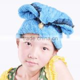 Soft Microfiber Bath Hat Hair Dry Towel Cap,Drying Turban Wrap,Hair Dry Quick Dryer Bath Salon Towels