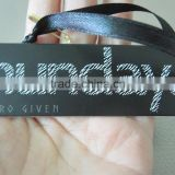stylish black cardboard tag (M-HT095)