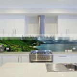 Glass splash backs painted glass for kitchens with AS/NZ 2208:1996