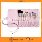 Lovely PU bag 12pcs personalized beauty brush set                                                                         Quality Choice