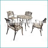 Durable metal furniture cast aluminium used patio furniture chairs and tables 2015 new design outdoor furniture                                                                         Quality Choice                                                     Most