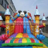 high quality inflatable slide jumping castle amusement park for kids