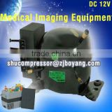 DC 12V/24V 35L~65L Car Fridge DC solar refrigerator DC compressor freezer for medical imaging equipment