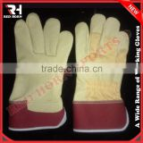Mason Gloves, Leather Work Gloves, Industrial Strong Gloves