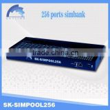 chinaskyline low cost remote VoIP product 256 Slots SIMBANK,sim bank / sim server / sim box compatible with sms gateway