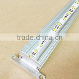 25x18mm Surface Mounted Aluminum LED profile For Glass Shelf Light