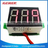 MiNi DC4.5-30V Digital LED Car Truck Voltmeter tester Voltage Volt Panel Meter
