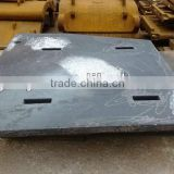 High manganese steel casting crusher liner lining plate liner plate manufacturer supplier