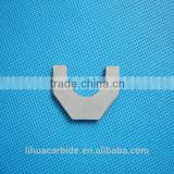 zhuzhou manufacture many different shapes of tungsten carbide brazed tips blades inserts for woodworking cutting tools
