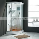 FC-116 plastic sitting steam room ws-400b white tray artificial stone