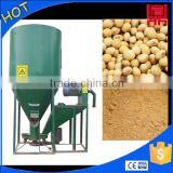 vertical animal feed mill mixer machine for processing corn/maize/bean