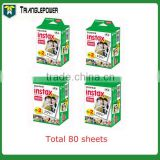 Fujifilm Instax Mini Film Instant Twin Pack White Film for Mini 7s / 8 / 25 / 50s / 90 Camera                                                                         Quality Choice