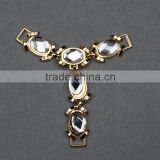 Fashion shoe decorative buckels &hot selling shoe rhinestone accessories for sandals