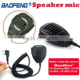 Cheap Baofeng Two-way Radio Handheld PTT Mic Wireless Microphone Mini Radio Speaker