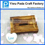 natural wooden soap dish