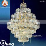 Luxury Empire Big Crystal Chandelier for Interior Decoration