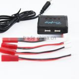 Newest 4 in 1 V977 spare parts RC lipo li-po battery charger