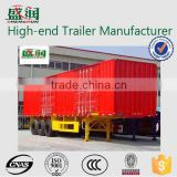 Best quality cheap 3 Axles Refrigerated van Semi Trailer for sale