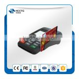 android Mobile pos terminal Support Magnetic+Contact+Contactless card reader, 58mm thermal printer --HTY800